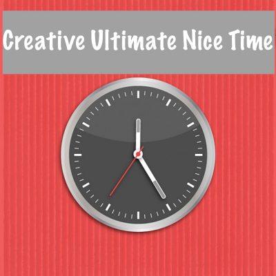 Creative Ultimate Nice Time