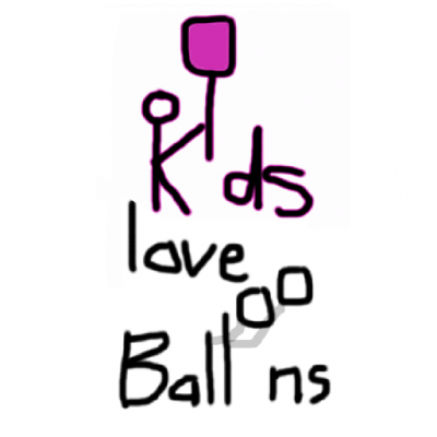 Kids Love Balloons