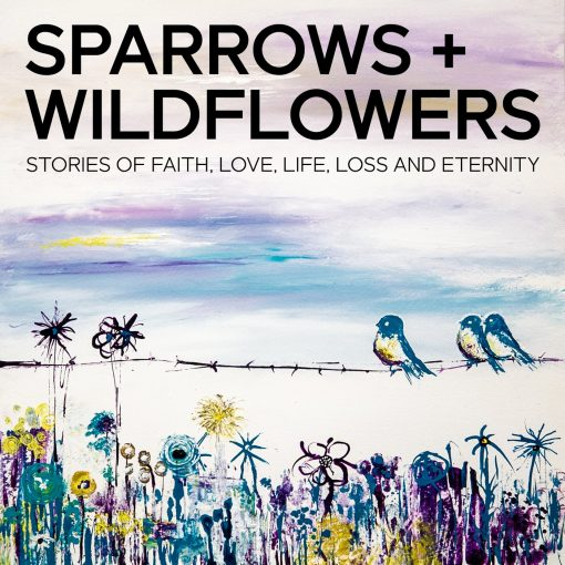Sparrows And Wildflowers