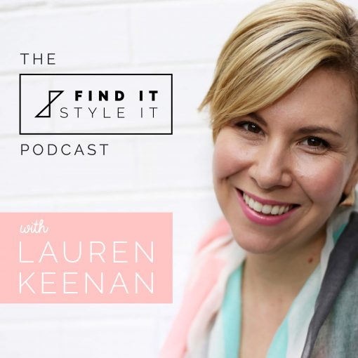 The Find it. Style it. Podcast
